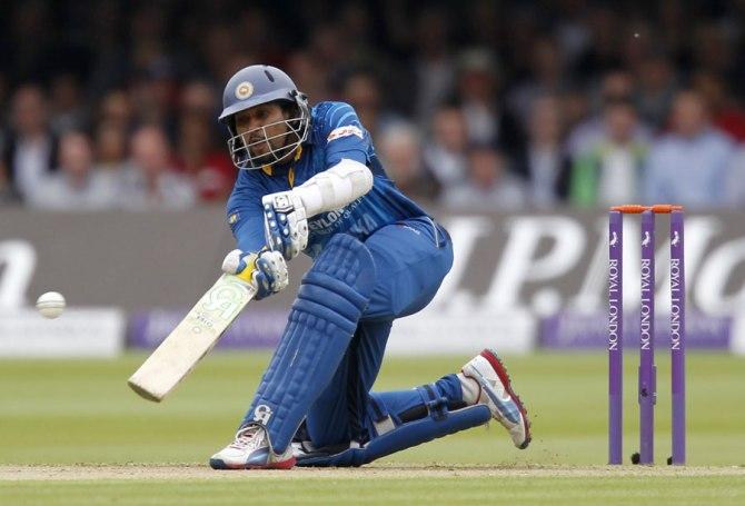 Dilshan hit five boundaries during his knock of 71