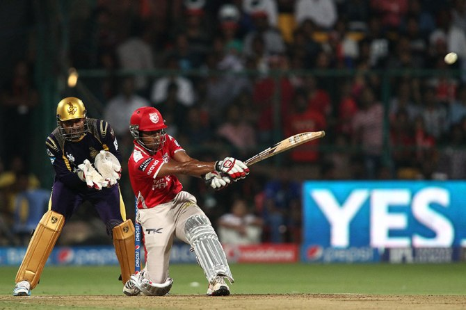 Saha hammered 10 boundaries and eight sixes during his valiant knock of 115