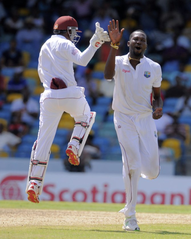 Benn recorded his fourth five-wicket haul