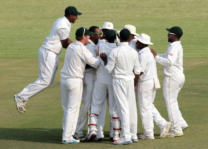 Zimbabwe's last three-Test series came against Sri Lanka in 2001