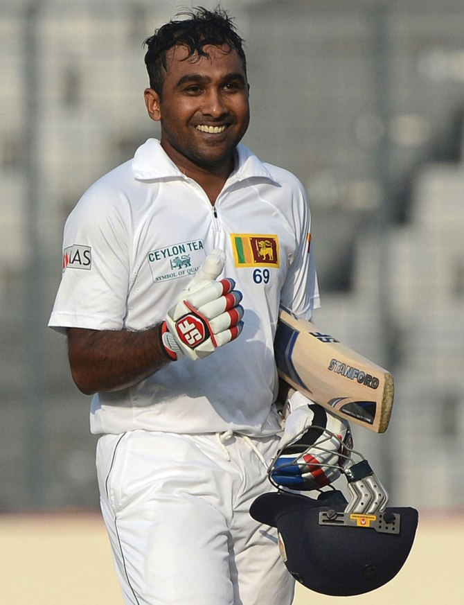 Jayawardene averages 77.08 when playing at the Sinhalese Sports Club