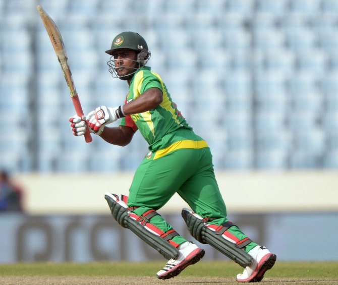 Kayes scored a half-century in the only ODI he played this year