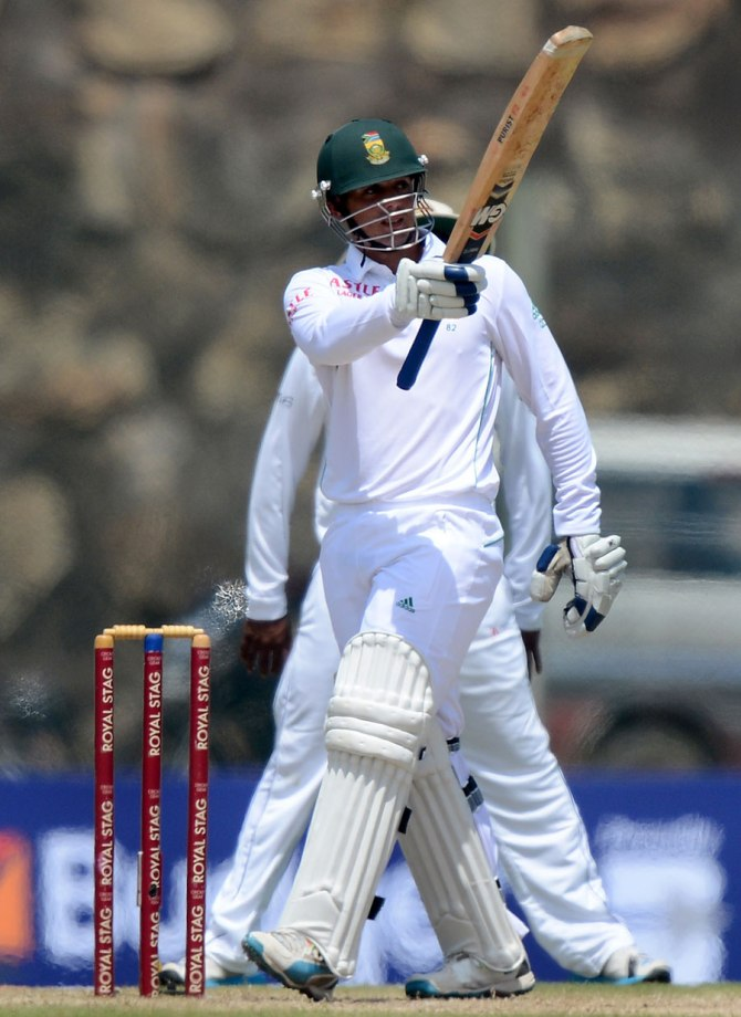 De Kock struck six boundaries during his knock of 51
