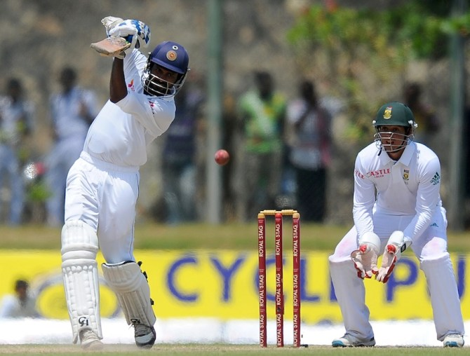 Tharanga struck 14 boundaries during his brilliant knock of 83