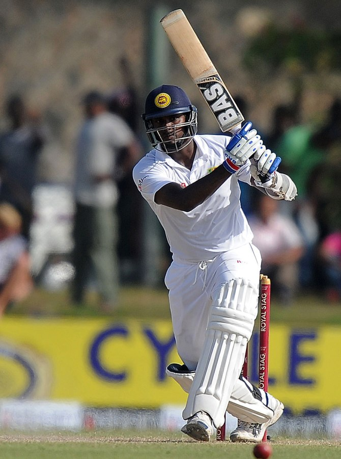Mathews led by example with a superb 89