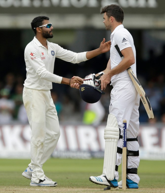 Anderson allegedly abused and pushed Jadeja during the first Test in Nottingham