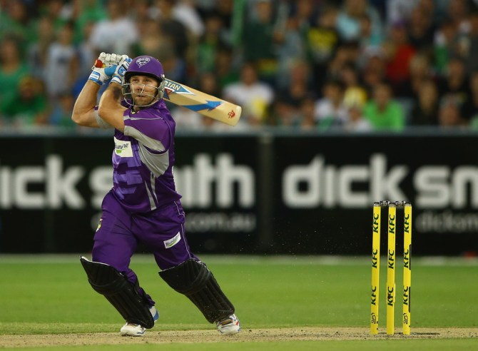 Blizzard represented the Hobart Hurricanes during last year's BBL