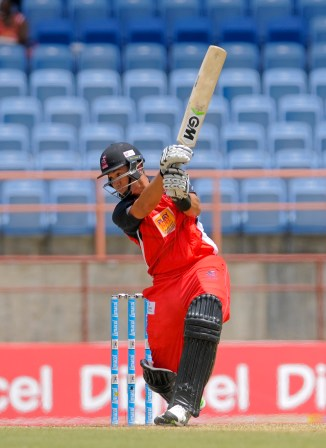 Taylor hammered six boundaries and a six during his superb knock of 62