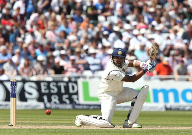 Vijay's good form with the bat continued
