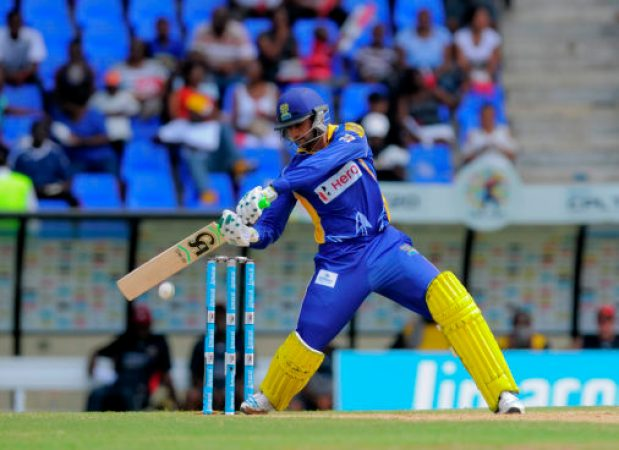 Malik walloped four boundaries and four sixes during his knock of 72