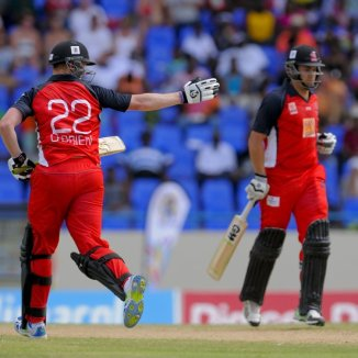 O'Brien and Taylor sealed the deal for the Red Steel with an unbeaten 145-run partnership