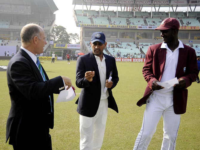 India won the ODI and Test series when they faced the West Indies in 2013