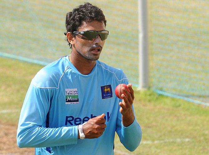 Randiv's last ODI for Sri Lanka came against Australia in August 2011