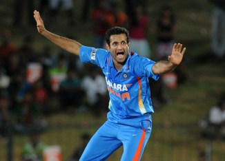 Pathan's last match for India came against South Africa in October 2012