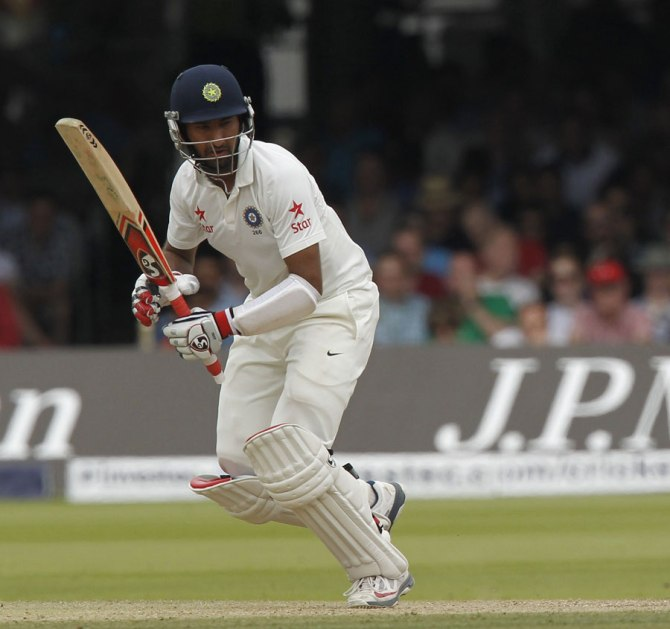 Pujara struggled to score runs during the recently concluded Test series against Enland