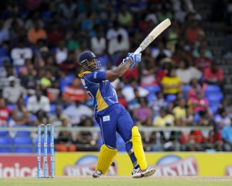 Pollard hammered four boundaries and five sixes during his knock of 63