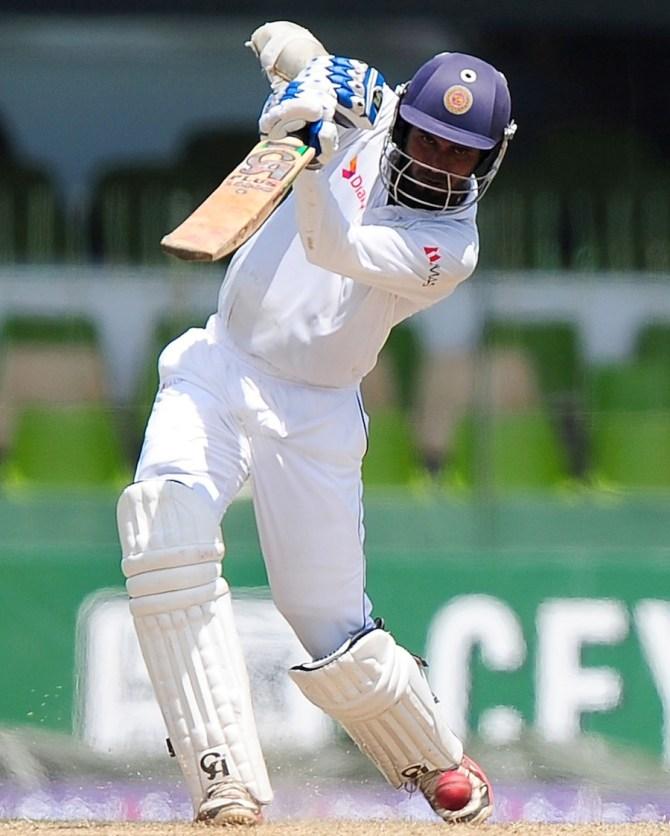 Tharanga hit 12 boundaries during his knock of 92
