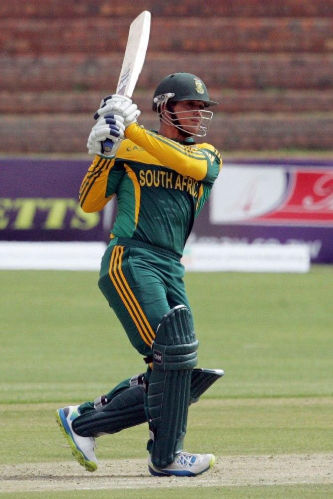 De Kock gave South Africa a strong start