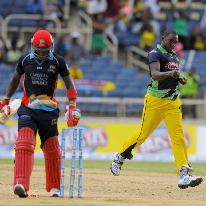 Taylor was named Man of the Match for his four-wicket haul