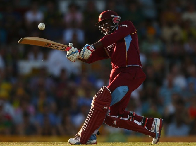 Thomas' last match for the West Indies came against Australia in February 2013