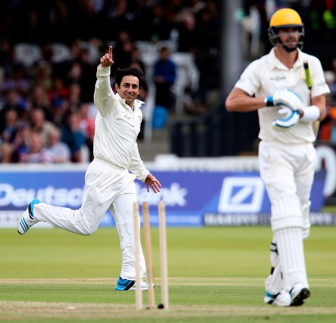 The last time Mushtaq saw Ajmal bowl was during the Lord's Bicentenary match