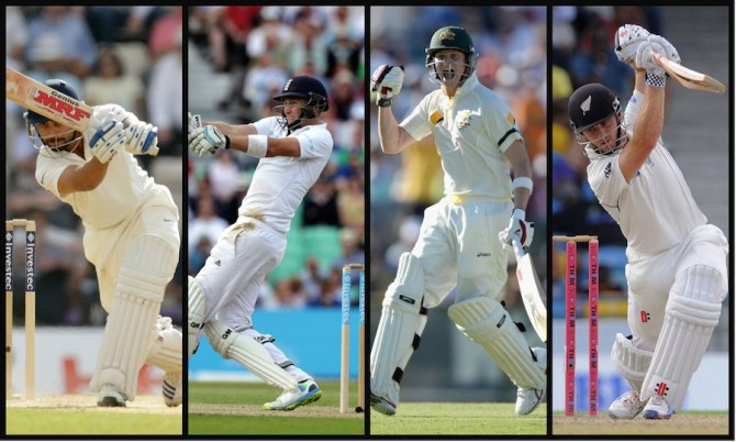 """All four will reach peak form in a few years' time, and then the real battle will commence as to who will be the No. 1 batsman in the world"""