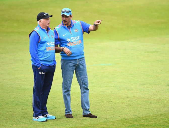 Shastri will continue being India's director of cricket, while Fletcher will carry on as head coach