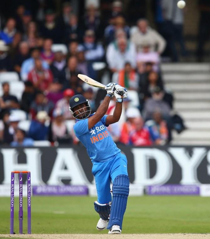 Rayudu hit six boundaries during his match-winning knock of 64