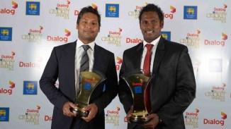 Mathews and Sangakkara were both named Test Batsman of the Year