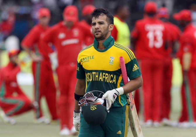 Duminy injured his knee during the recently concluded ODI tri-series