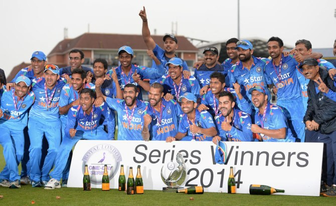 Bangar, Arun and Sridhar received a lot of praise from Shastri after India's 3-1 victory over England in the ODI series
