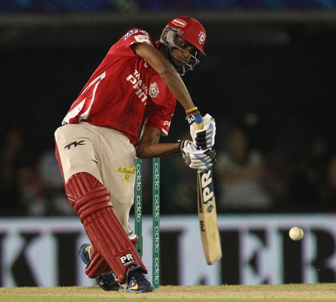 Patel hit three boundaries and a six during his crucial knock of 23