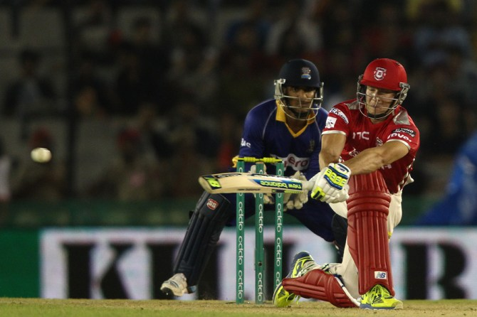 Miller was named Man of the Match for his unbeaten innings of 46