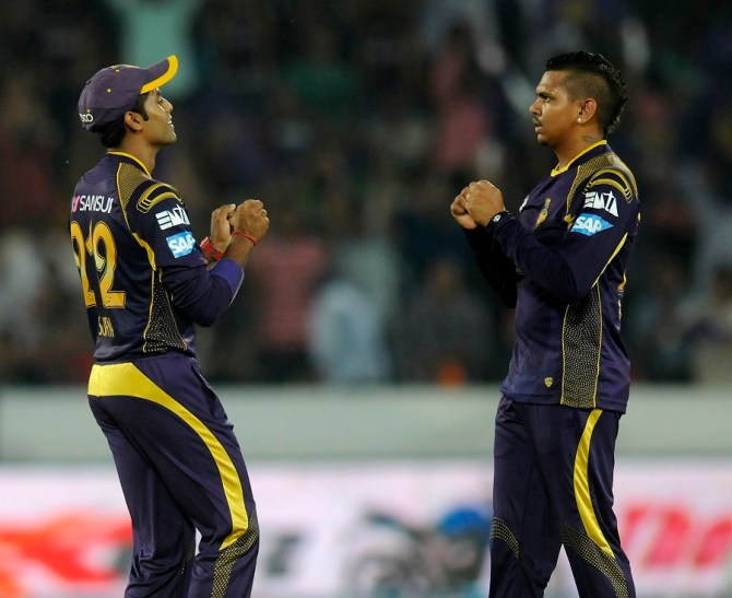 Narine finished with incredible figures of 3-9 off his four overs