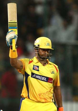 Raina was named Man of the Match for his sensational knock of 90