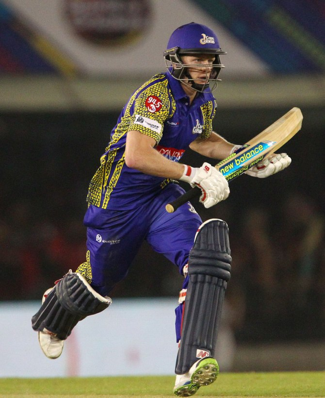 Engelbrecht was named Man of the Match for his clutch batting performance and game-winning bowling in the Super Over