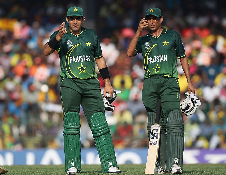 Misbah and Younis should not be in Pakistan's World Cup