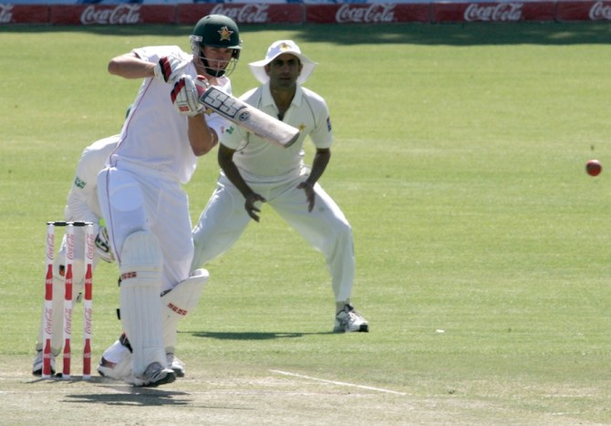 Ervine's last Test for Zimbabwe came against the West Indies in March 2013