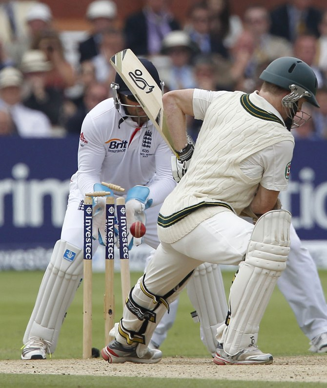 """""""I had my own troubles with Graeme Swann, so I didn't know how I was going to go against Ajmal"""""""