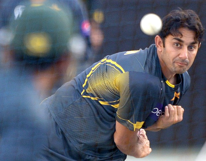 """""""There is definite improvement in Saeed's bowling action as the team of experts led by Saqlain Mushtaq is working in two sessions with him every day"""""""