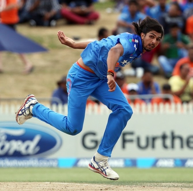 Ishant's last ODI for India came against New Zealand in January 2014
