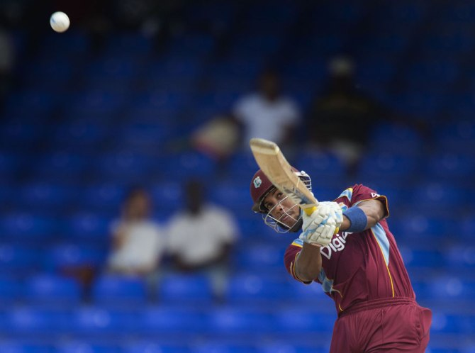 Simmons was not picked to play in the first two ODIs
