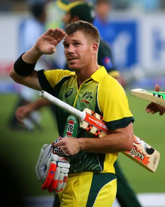 Warner led Australia to victory with his game-winning knock of 53