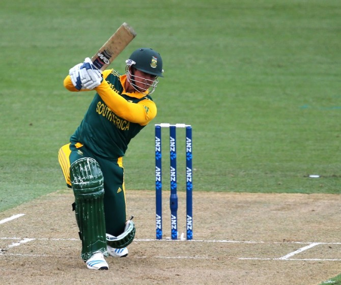 De Kock hammered 11 boundaries during his unbeaten knock of 80
