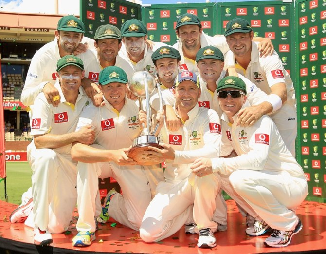 India were whitewashed 4-0 when they toured Australia in 2011-12