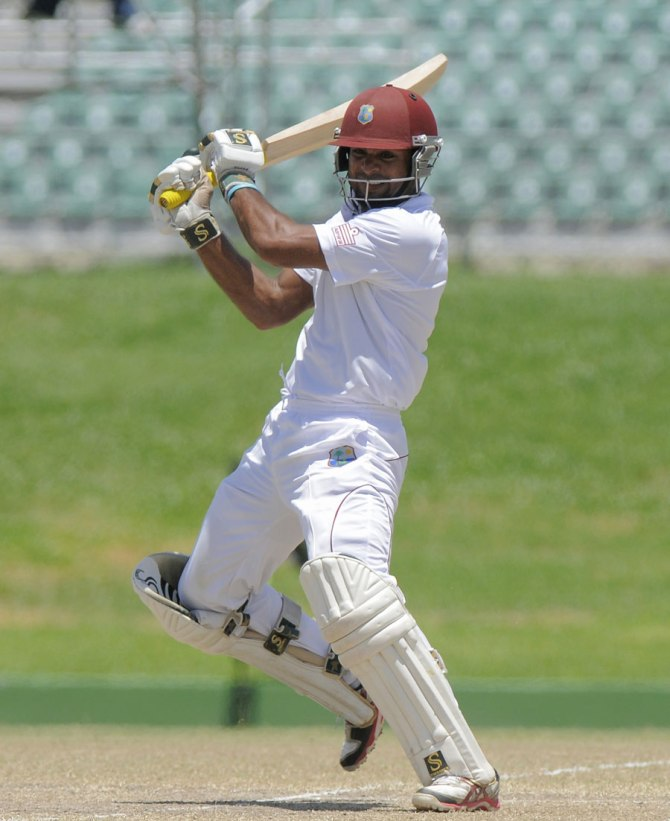 Fudadin's last Test match for the West Indies came against New Zealand in August 2012