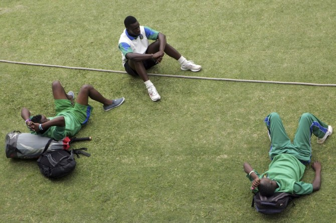 Zimbabwe's domestic players went on strike from from mid-December to mid-February as well