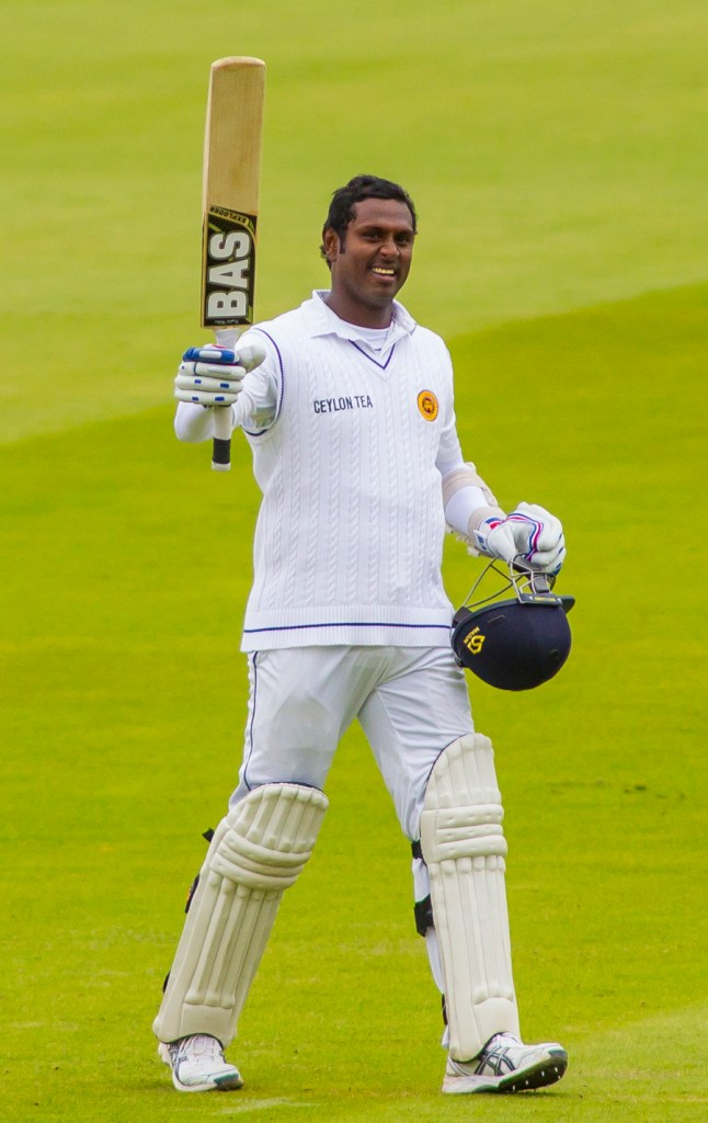 Mathews has been named captain of the ICC's Test Team of the Year