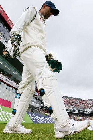 Dhoni will watch India's first Test against Australia from the sidelines