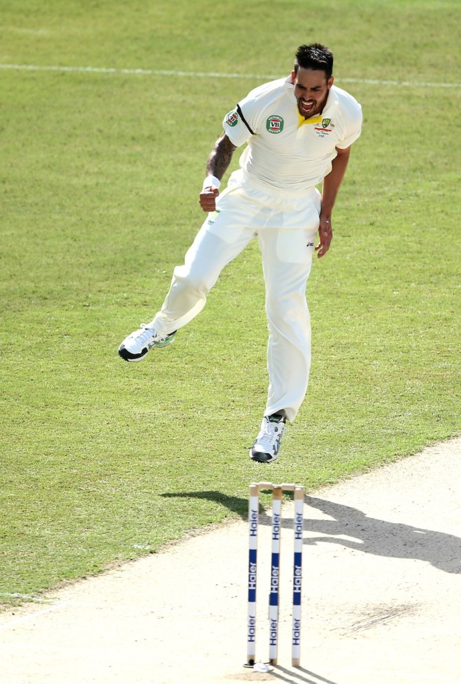 Johnson has been in red-hot form ever since he made his Test return